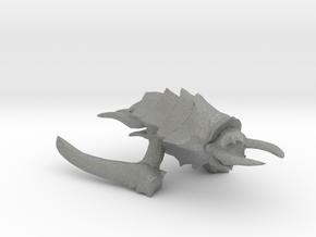 Kraken Beastship - Concept C in Gray Professional Plastic