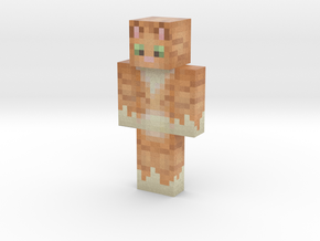 orangetabby9902801 | Minecraft toy in Natural Full Color Sandstone