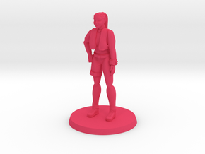 Ship Mechanic  in Pink Processed Versatile Plastic