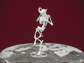 Faun Skeleton in White Natural Versatile Plastic