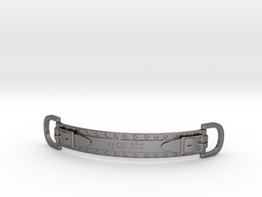 Choker Strap in Polished Nickel Steel