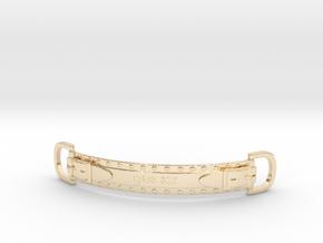 Choker Strap in 14k Gold Plated Brass