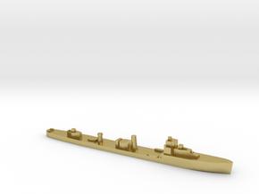 HMS Velox LR Escort 1:2400 WW2 in Natural Brass