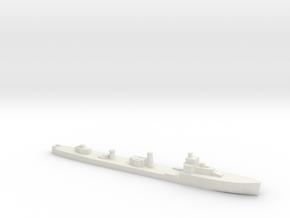 HMS Velox LR Escort 1:1800 WW2 in White Natural Versatile Plastic
