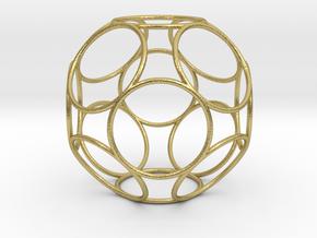 Alpha 5D Yggdrasil in Natural Brass