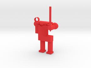 Robot in Red Processed Versatile Plastic