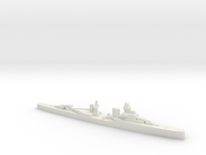 Luigi Cadorna light cruiser 1:2400 WW2 in White Natural Versatile Plastic