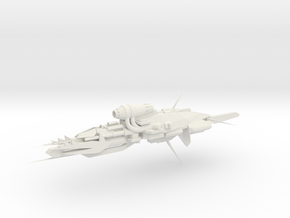 Alternative Kruiser - Concept B  in White Natural Versatile Plastic