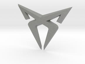 Cupra Grill Flag Swap - Logo Part in Gray PA12