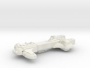 Kassl Gunship Mk2  in White Natural Versatile Plastic