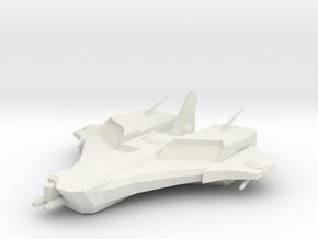 ! - Custodian Class Battleship  in White Natural Versatile Plastic