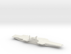 USS Midway (CV-41) (Final Layout), 1/1250 in White Natural Versatile Plastic