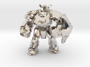 Starcraft 1/60 Terran Marauder Armored Soldier in Platinum