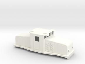 Swedish SJ electric locomotive type Ub - H0-scale in White Processed Versatile Plastic