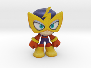 Elec Man - 50mm in Natural Full Color Sandstone