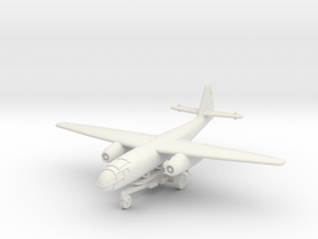 (1:200) Arado Ar 234 V1 (On Take-off Trolley) in White Natural Versatile Plastic