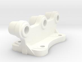 Heckanbaupunkt Unimog in White Processed Versatile Plastic
