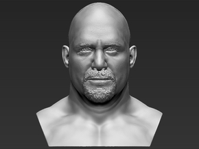 Stone Cold Steve Austin bust in White Natural Versatile Plastic