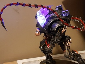 Darksiders - Fury's Whip - Imperial Knight Scale  in Smooth Fine Detail Plastic