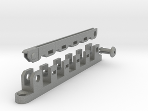Cable Organizer, 5-Slot in Gray PA12