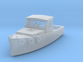 HO Scale Lobster Boat in Smooth Fine Detail Plastic