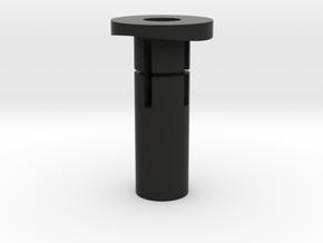 Insert bottle cage in Black Natural Versatile Plastic