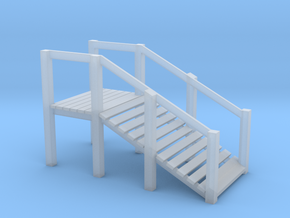 N Scale Cattle Ramp in Smooth Fine Detail Plastic