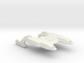 3788 Scale Lyran Java Tiger Heavy Command Cruiser in White Natural Versatile Plastic