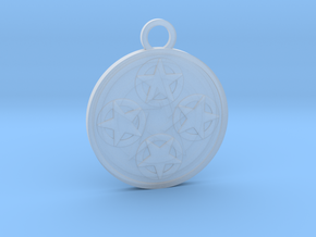 Four of Pentacles in Smooth Fine Detail Plastic