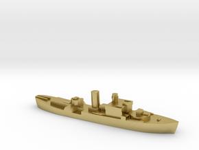HMS Begonia corvette 1:1800 WW2 in Natural Brass