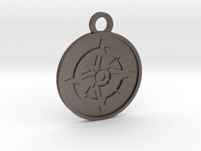 The Star in Polished Bronzed-Silver Steel