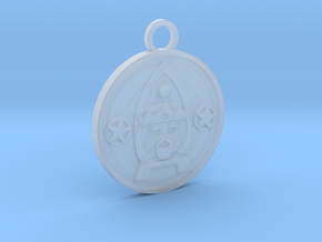 King of Pentacles in Smooth Fine Detail Plastic
