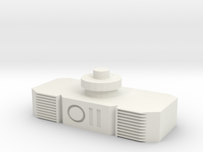 Siege Megatron ab extender in White Natural Versatile Plastic