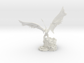 Undead Wyvern in White Natural Versatile Plastic
