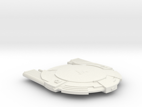 3125 Scale Andromedan Intruder Cruiser SRZ in White Natural Versatile Plastic