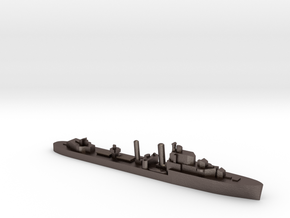 HMS Intrepid destroyer 1:1200 WW2 in Polished Bronzed-Silver Steel