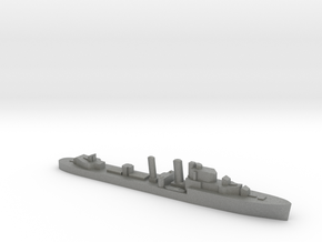 HMS Intrepid destroyer 1:2400 WW2 in Gray PA12