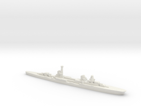 Raimondo Montecuccoli light cruiser 1:2400 WW2 in White Natural Versatile Plastic