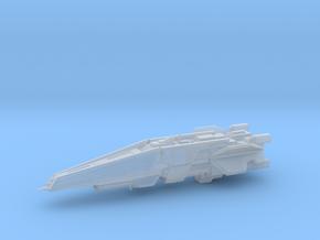 UNSC Halberd destroyer high detail 1:7000 in Smooth Fine Detail Plastic