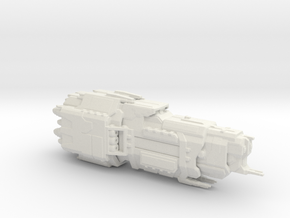 UNSC Valiant Super Heavy Cruiser 1:7000 scale in White Natural Versatile Plastic