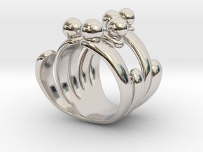 Tjis - Bjou Designs in Rhodium Plated Brass