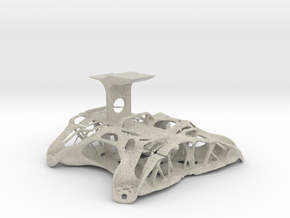 Chassis FPV Drone 50% Scale in Natural Sandstone