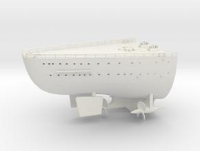 Best Cost 1/200 DKM Bismarck deck stern in White Natural Versatile Plastic
