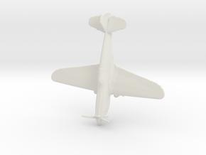 1:220 P-40 Warhawk in White Natural Versatile Plastic