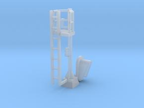 N Modern Signal Mast 1 Head in Smooth Fine Detail Plastic