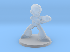 Megaman 1/60 miniature for games and rpg scifi in Smooth Fine Detail Plastic