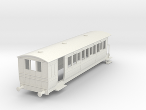o-87-hmsty-selsey-falcon-brake-coach in White Natural Versatile Plastic