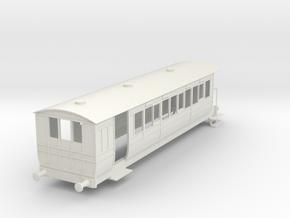 o-43-hmsty-selsey-falcon-brake-coach in White Natural Versatile Plastic