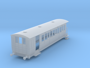 o-148fs-hmsty-selsey-falcon-brake-coach in Smooth Fine Detail Plastic