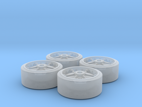 Sherman C85163 Wheel Set in Smoothest Fine Detail Plastic